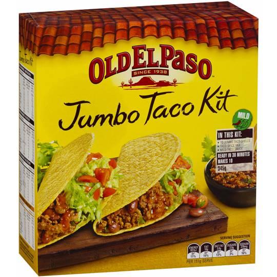 Old El Paso Dinner Kit Jumbo Taco