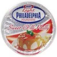 Kraft Lite Sweet Chilli Philadelphia Pourovers