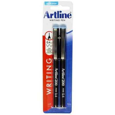 Artline 200 Fineline Pen Black