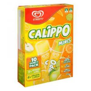 Streets Calippo Mini Ice Blocks Lemon Orange Lime