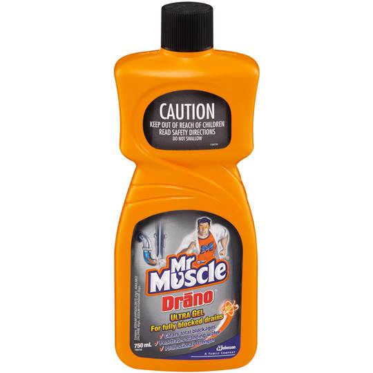 Mr Muscle Drain Cleaner Drano