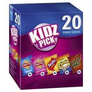Smith's Chips Multipack Kidz Pick