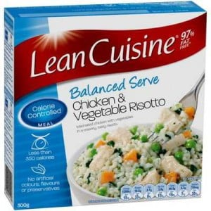 Lean cuisine bowl chicken vegetablle risotto ratings for Are lean cuisine good for you