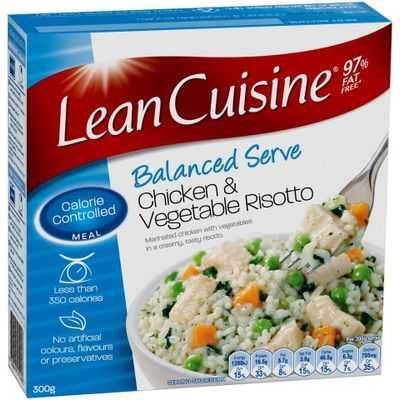 Lean Cuisine Bowl Chicken & Vegetablle Risotto