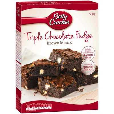 Betty Crocker Brownie Mix Triple Chocolate Fudge Ratings Mouths Of