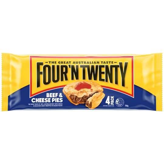 Four N Twenty Pies Beef & Cheese