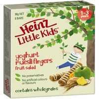 Heinz Little Kids Snack Fruit Salad Muesli Fingers