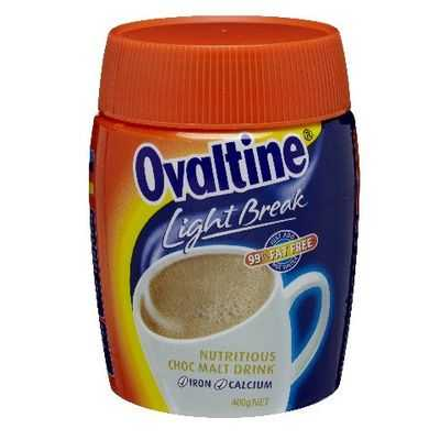 Ovaltine Chocolate Light Break Energy Drink