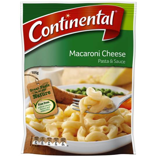 Continental Pasta Amp Sauce Macaroni Cheese Ratings Mouths