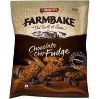 Arnott's Farmbake Cookies Choc Chip Fudge