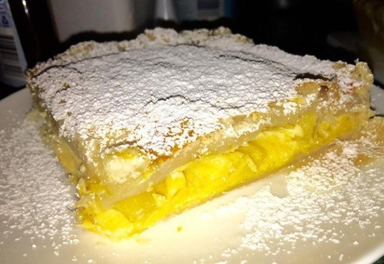 Custard Pineapple Pie