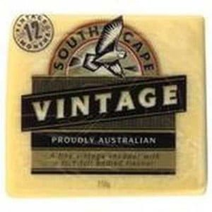 South Cape Vintage Cheddar Cheese