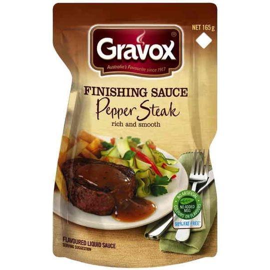 Gravox Finishing Sauce Pepper Steak