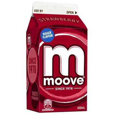 mom93821 reviewed Moove Flavoured Milk Strawberry
