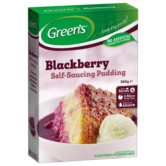 mom93821 reviewed Greens Pudding Blackberry Sponge