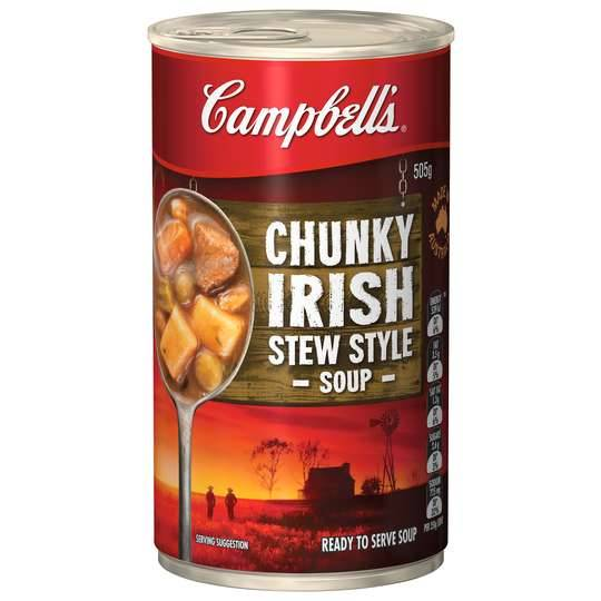 Campbell's Chunky Canned Soup Hearty Irish Stew