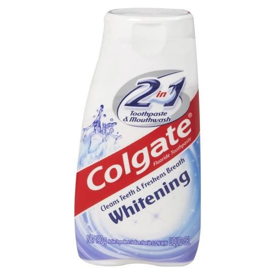 Colgate 2in1 Toothpaste Gel Whitening