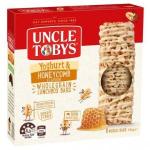 Uncle Tobys Yoghurt Topps Honeycomb