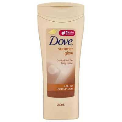 Dove Summer Glow Gradual Tanner Fair To Medium