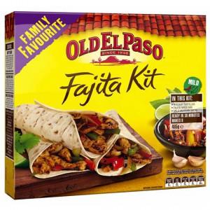 Old El Paso Dinner Kit Fajita