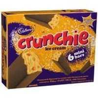 Cadbury Dairy Milk Ice Cream Bars Crunchie
