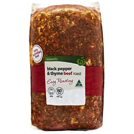 Beef Roast Thyme & Black Pepper
