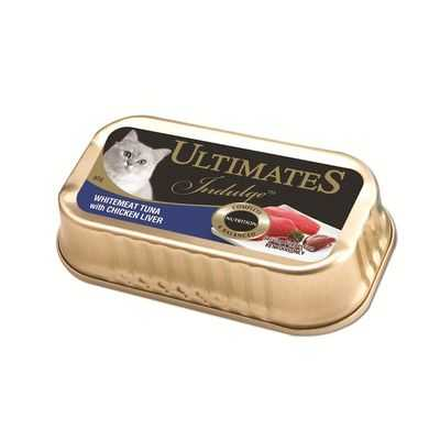 Ultimates Indulge Adult Cat Food Whitemeat Tuna & Chicken Liver