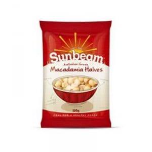 Sunbeam Macadamias Halves