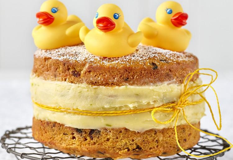 Carrot Duckling Cake