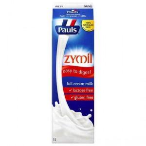 Pauls Zymil Lactose Free Full Cream Milk
