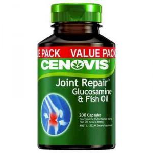 Cenovis joint repair glucosamine fish oil capsules value for Fish oil ratings