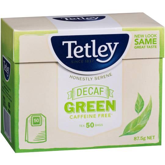 Tetley Decaffeinated Green Tea Bags