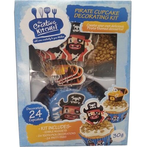 Pirate Cake Decorating Kit : Creative Kitchen Pirate Cake Decorating Kit Ratings ...