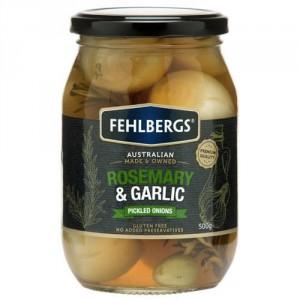 Fehlbergs Pickled Onion Rosemary & Garlic