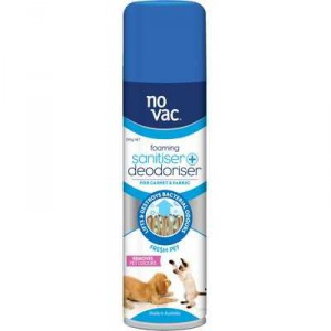 No Vac Sanitiser & Deodoriser Carpet Fresh Pet