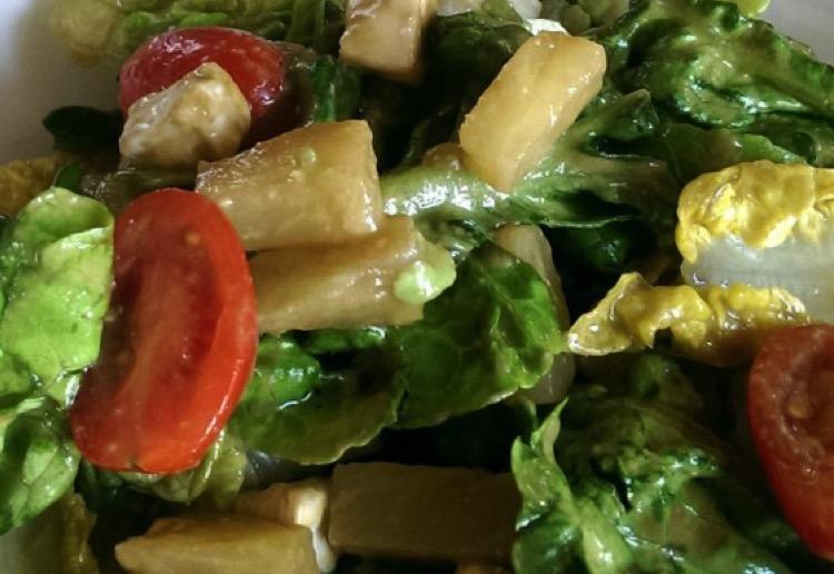 Baby cos salad