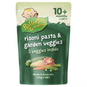 Rafferty's Garden Food 10 Months Rissoni Pasta & Garden Veg