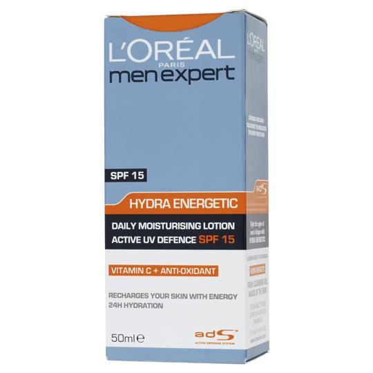L'oreal Face Care Men Expert Moisturiser Spf15
