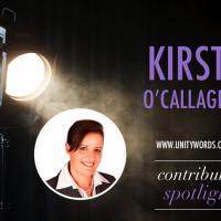 Contributor spotlight...Kirsty O'Callaghan