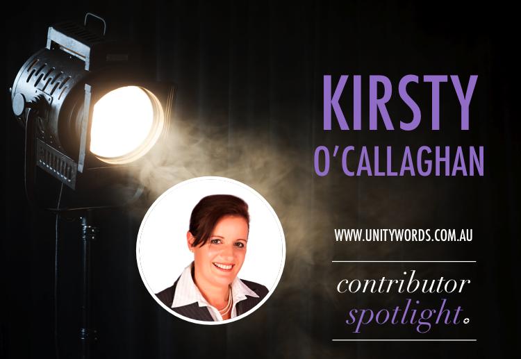 Contributor spotlight…Kirsty O'Callaghan