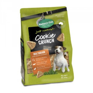 Natures Gift Cookie Crunch Beef:oatmeal