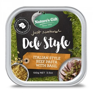 Natures Gift Deli Style Beef Pasta with Basil