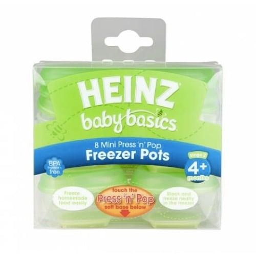 heinz baby basics freezer pots