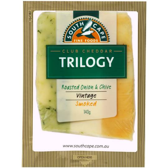 South Cape Trilogy Onion Chives & Smoked Cheddar Cheese