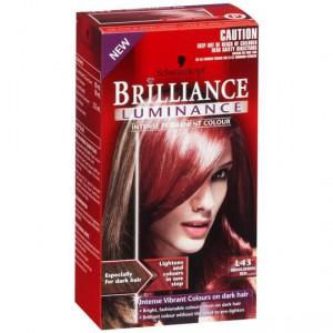Schwarzkopf Brilliance Luminance Smouldering Red L43