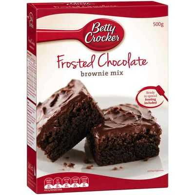 Betty Crocker Brownie Mix Frosted Chocolate Ratings Mouths Of Mums