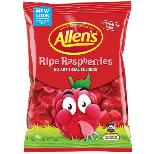 mom322008 reviewed Allen's Ripe Raspberries