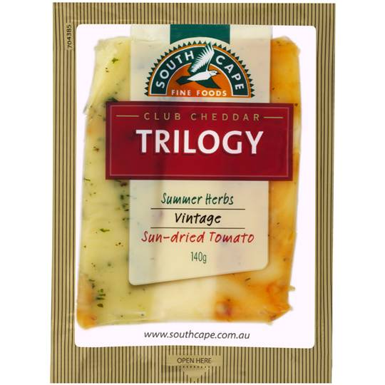Mum2archer reviewed South Cape Trilogy Herb Sundried Vintage Cheddar Cheese