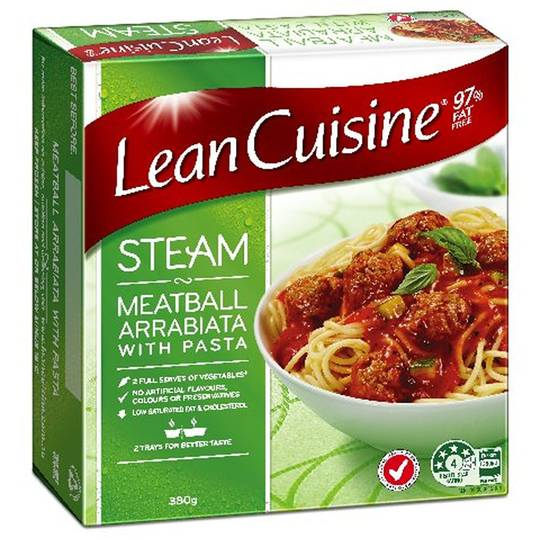 Lean cuisine steam meatball arrabbiata ratings mouths of for Are lean cuisine meals good for you