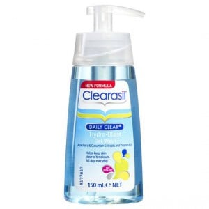 Clearasil Daily Clear Facial Cleanser Oil Free Gel